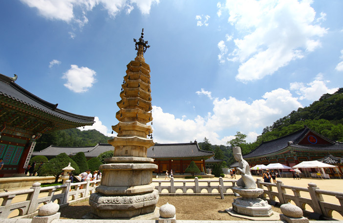 Woljeongsa Temple & Fir Tree Road