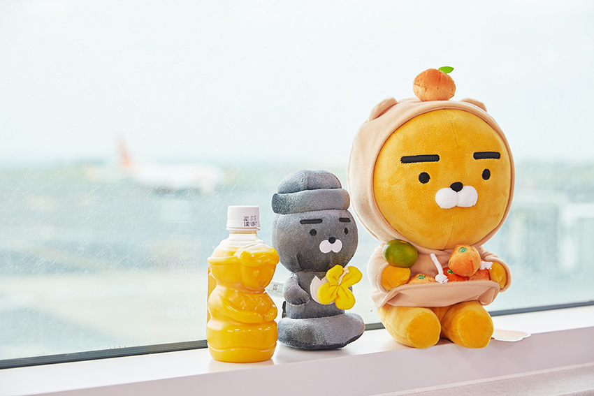 """Edición """"Friends in Jeju"""" de Kakao Friends"""