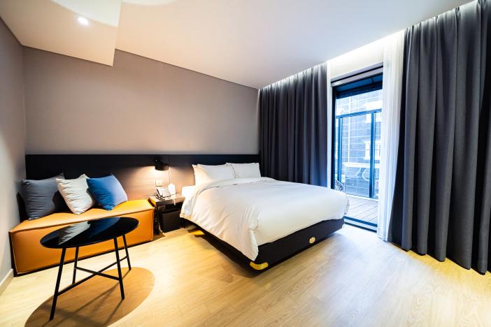 Tidy atmosphere, comfortable space Rivertain Hotel Gyeongju