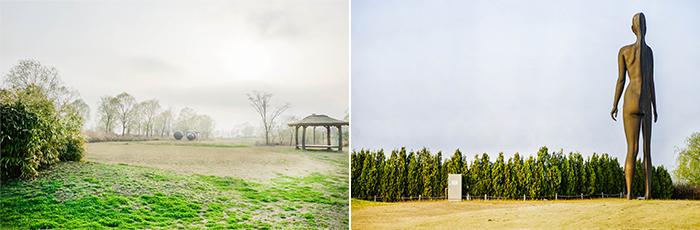圖片) 彩霞公園的春景