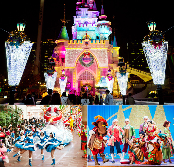 Scenes of Lotte World Christmas Miracle (Credit: Lotte World Adventure)