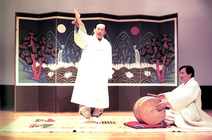Pansori Epic Chant; A Traditional Muscial Story Telling (Designated 2003)