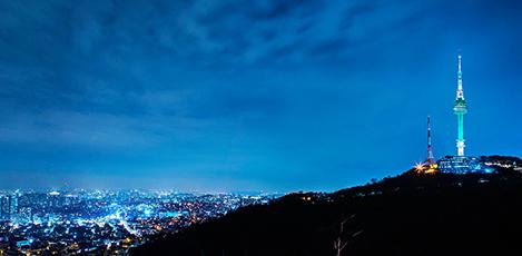 首尔地标——N首尔塔