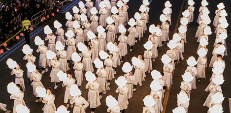 新羅時代に始まった歴史ある仏教行事「燃灯会」