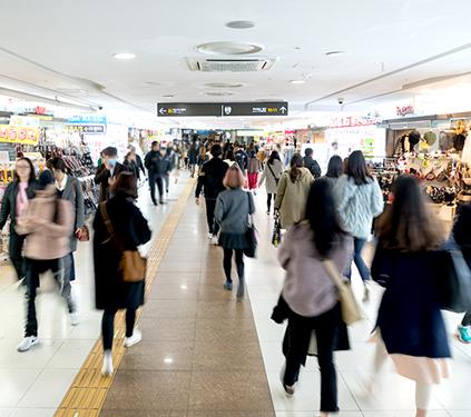 Centro Comercial Subterráneo de la Estación de Gangnam
