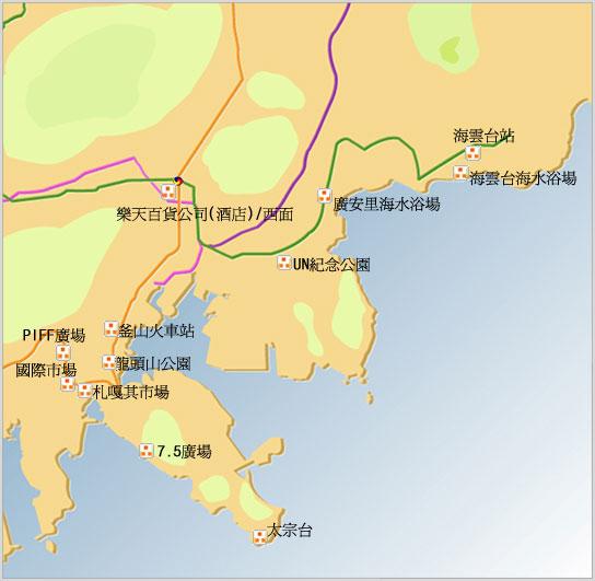 东亚外岛地图图片