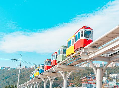 Haeundae Blue Line Park (credit: Danim 4th gen. Ryu Chae-woo)