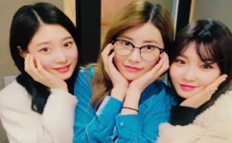 <strong>Former I.O.I Members Pose During Mini Reunion</strong>