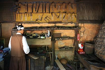 Корейская традиционная деревня Минсокчхон