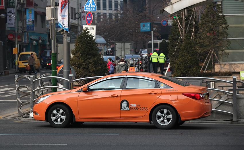 首爾中型計程車