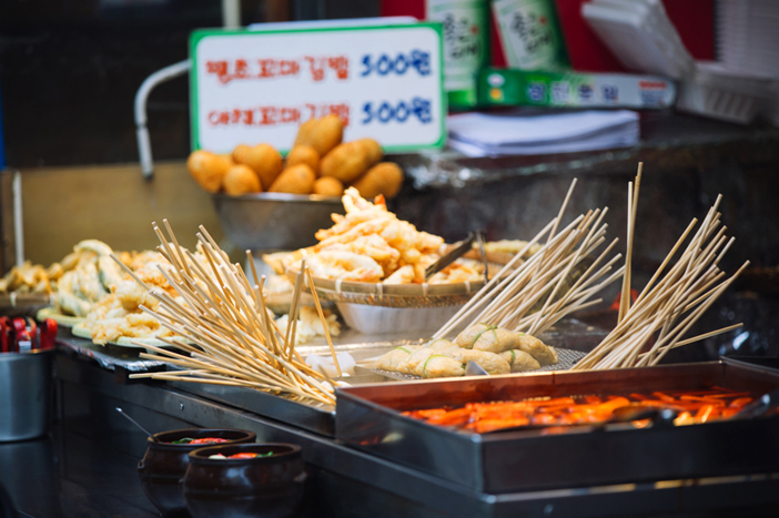Food stall at Haeundae Traditional Market
