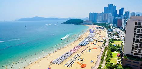 韓国の海水浴場ベスト10