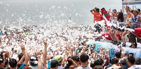 世界の人々と楽しむ夏の祭り<br />「保寧マッドフェスティバル」