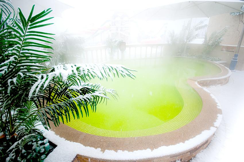 有助於改善膚質的碳酸溫泉 (來源: 大明渡假村)