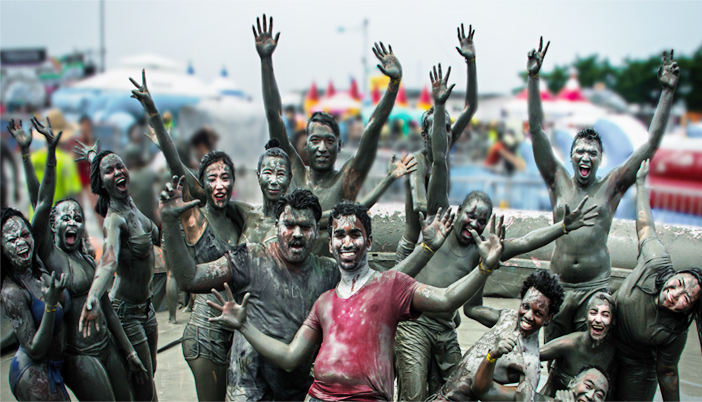 Schlammbad (Quelle: Boryeong Mud Festival Organization Committee)