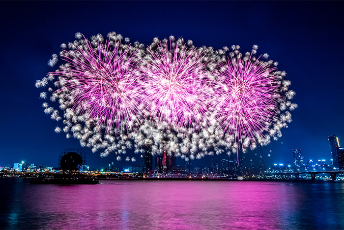 Seoul International Fireworks Festival (Credit: Hanwha Corporation)