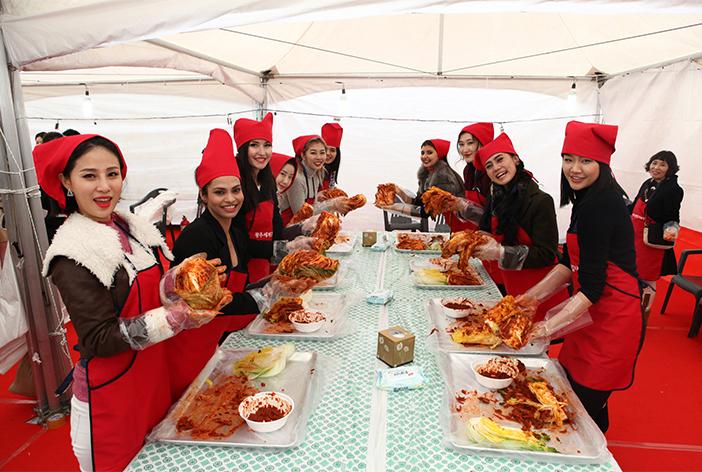 光州世界キムチ祭りの様子(写真提供:光州世界キムチ祭り委員会)