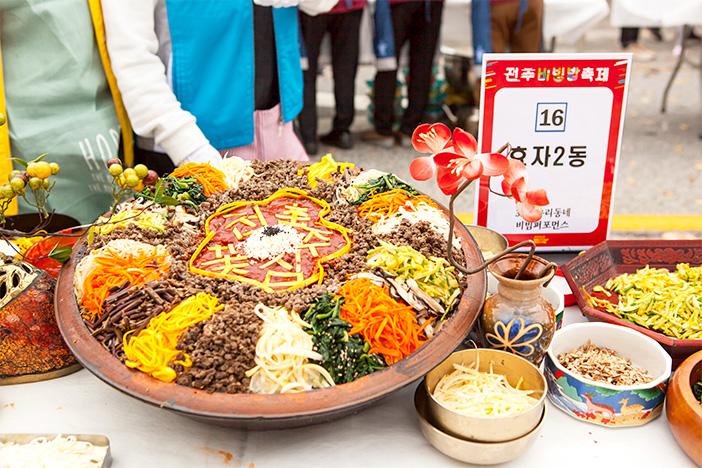 Jeonju Bibimbap Festival (Quelle: Jeonju Bibimbap Festival Organizing Committee)