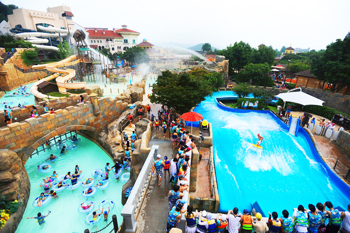 Caribbean Bay Water Park (Credit: Everland)