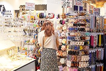 韓国のショッピングモール