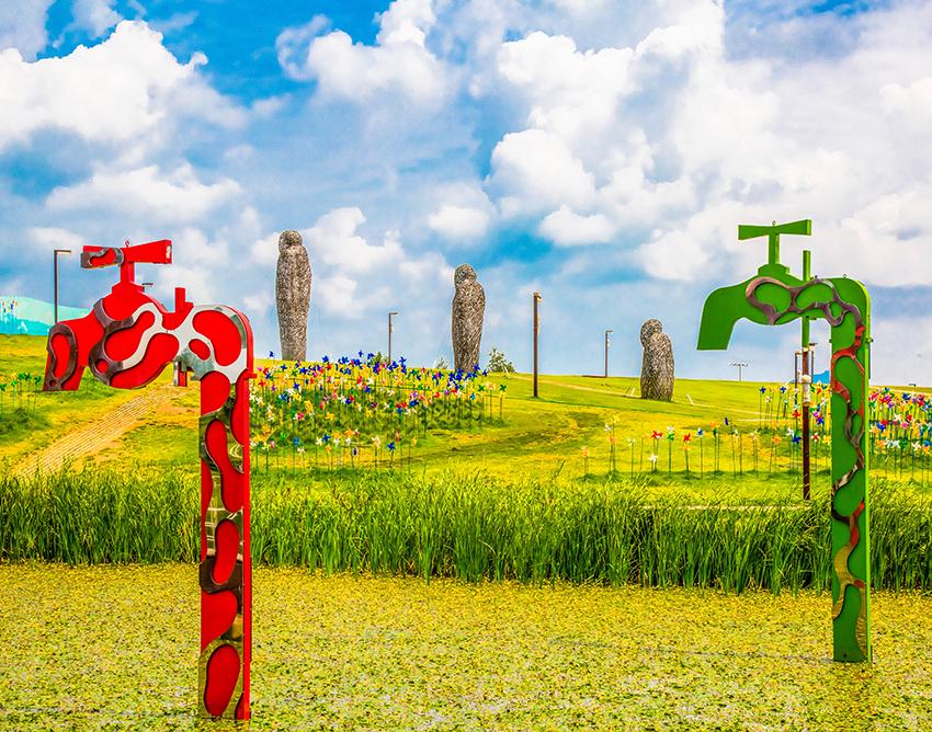 Parque Pyeonghwa Nuri de Imjingak (cortesía del Ayuntamiento de Paju).