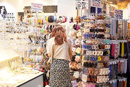韓國的購物中心