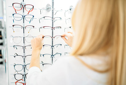 韓國的眼鏡店