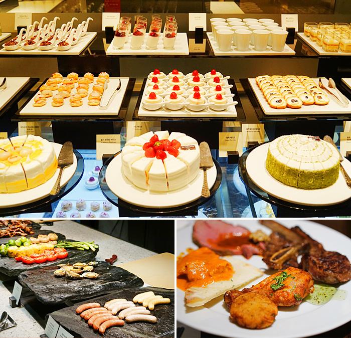 Variedad de comidas que se pueden consumir en Aria.