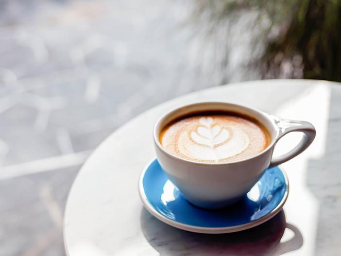 Under Pressure's latte and desserts (Credit: Under Pressure)
