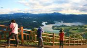 Malerische Seelandschaft von Jecheon