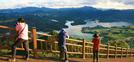 Ciudad de Jaecheon y su lago Cheongpungho