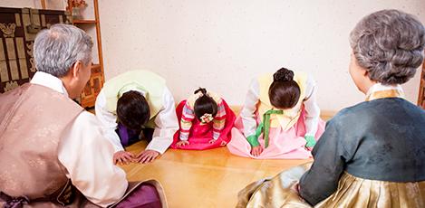 韓国の年中行事、ソルラル