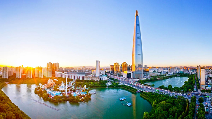 Lotte World Tower (credit: Lotte Corporation)