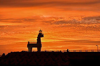 Sunset at Iho Tewoo Beach