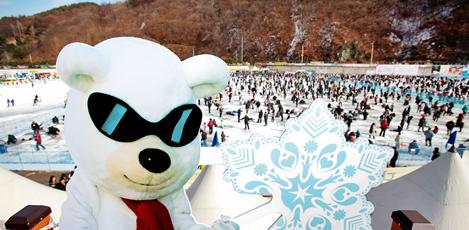 特色冬季庆典,华川山鳟鱼庆典