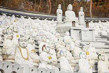 Obaek nahan am Tempel Bomunsa
