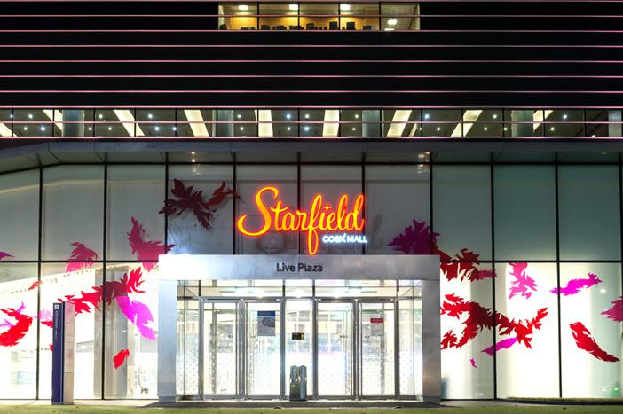 Vue des galeries Starfield COEX