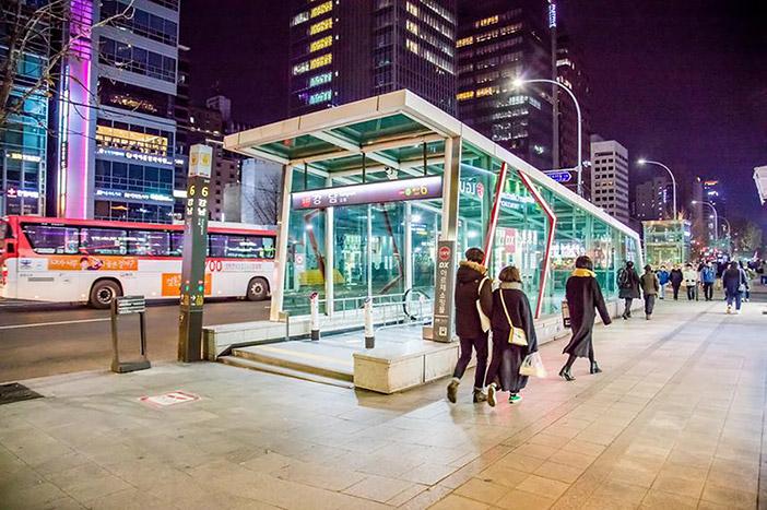 Gangnam Station Underground Shopping Center01