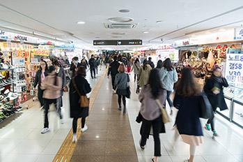 Gangnam Station Underground Shopping Center02