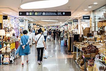 Gangnam Terminal Underground Shopping Center