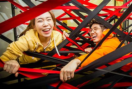 Dynamic Maze (cortesía de Creative Tong).