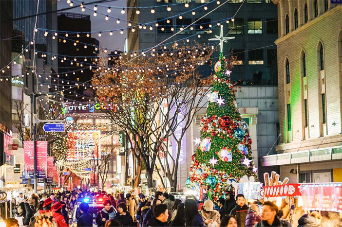 Christmas In Korea.Very Merry Christmas In Seoul Official Korea Tourism