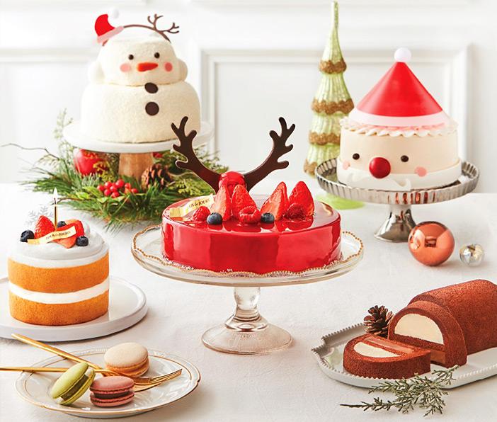 クリスマスケーキ(提供:トゥレジュール)