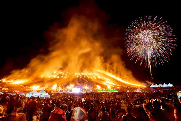 济州野火节