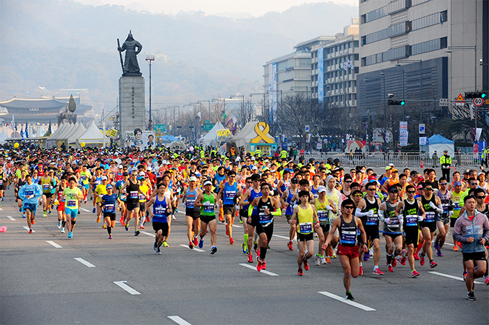 Seoul International Marathon (Credit: Seoul International Marathon Office)