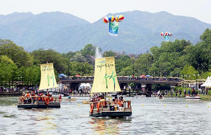 Damyang Bamboo Festival (Credit: Damyang Bamboo Festival Committee)