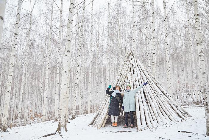 院垈里白樺の森 (ささめく白樺の森)