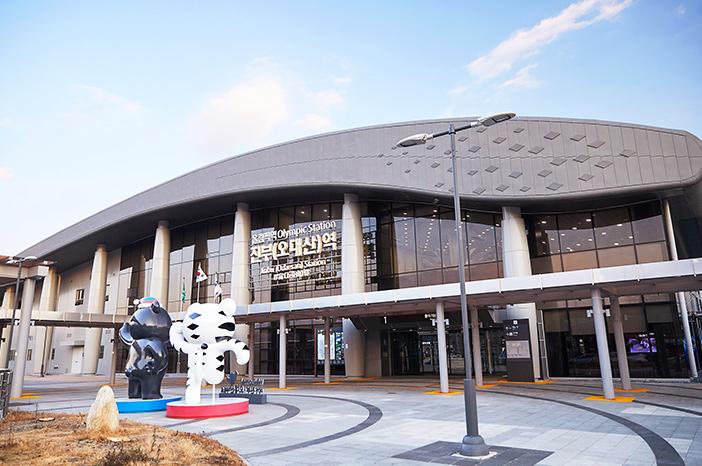 Gare de Jinbu (Odaesan), ligne Gangneung