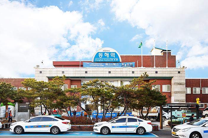 Gare Donghae, ligne Yeongdong-seon