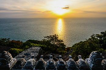 Photo: Sunrise at Hyangiram Hermitage